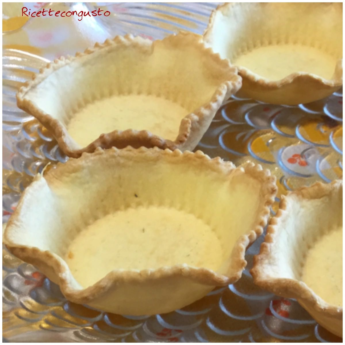 Ricettecongusto Cestini Di Pasta Brise