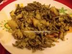 Asparagi selvatici, uova e patate