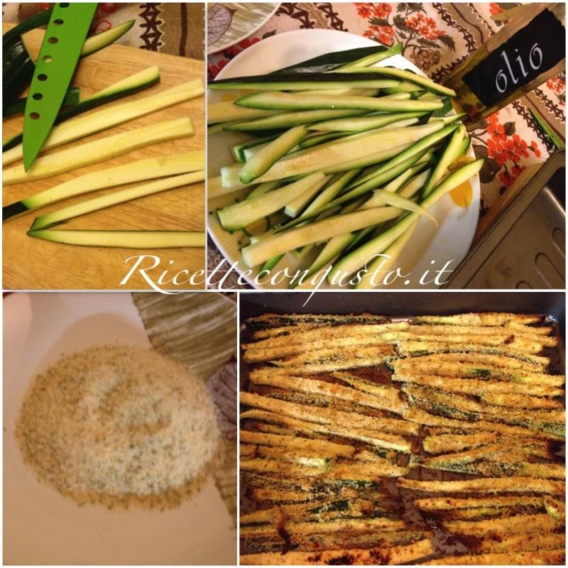 Bastoncini di zucchine al rosmarino