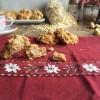 Biscotti con fiocchi d'avena e albumi alla nocciola