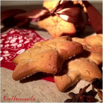 Biscotti all'arancia speziati