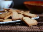 Biscotti a cuore di grano saraceno e di riso integrale