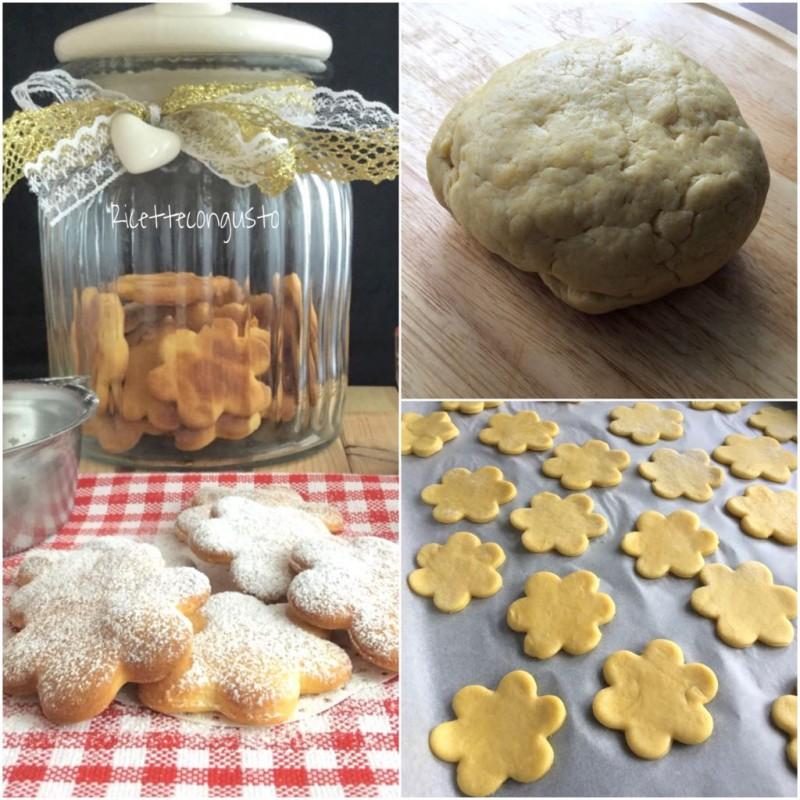 Biscotti di farro con ricotta e cannella
