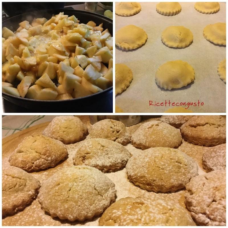 Biscotti cuor di mela e cannella