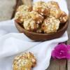 Biscotti morbidi di ricotta con crusca e fiocchi d'avena