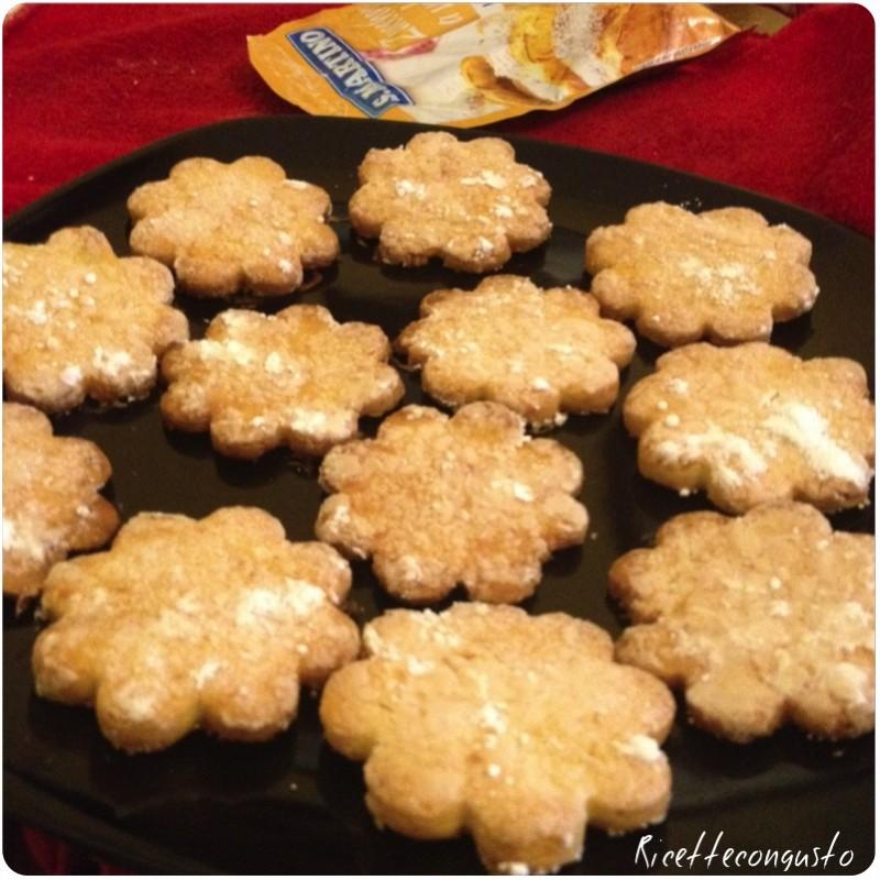 Biscotti di farina di riso al limone