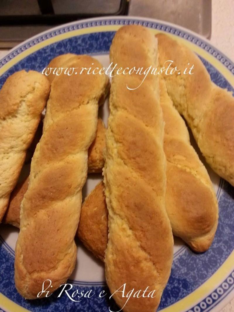 Biscotti treccia casalinghi