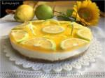 Cheesecake al limone con gelatina