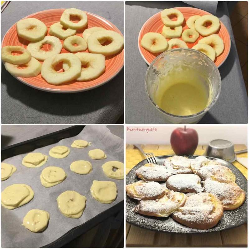 Ciambelle di mele al forno