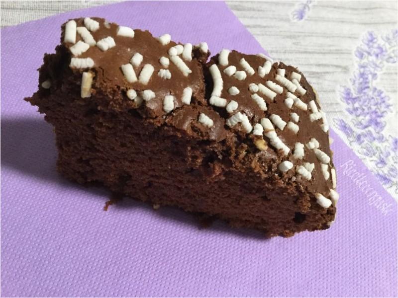 Colomba al cioccolato fondente