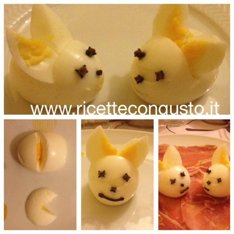 Coniglietto con Uovo sodo