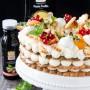 Torta biscotto ovvero cream tart senza glutine