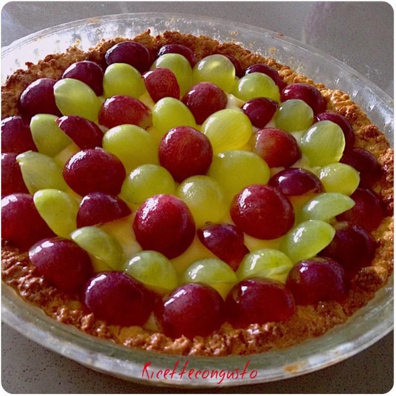 Crostata all'uva