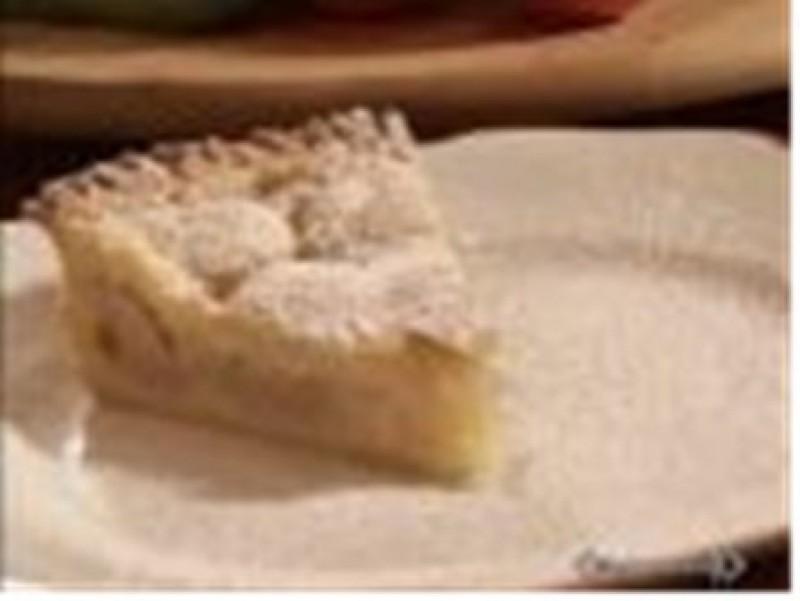 Torta crostata di pere