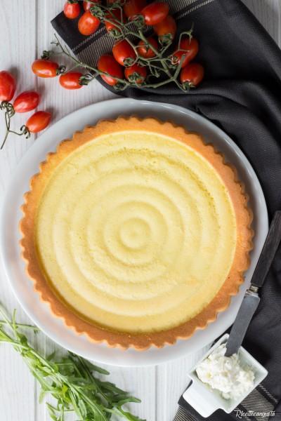 Crostata salata morbida al parmigiano (ricetta base)