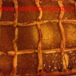 Crostata alla marmellata di pomodori verdi
