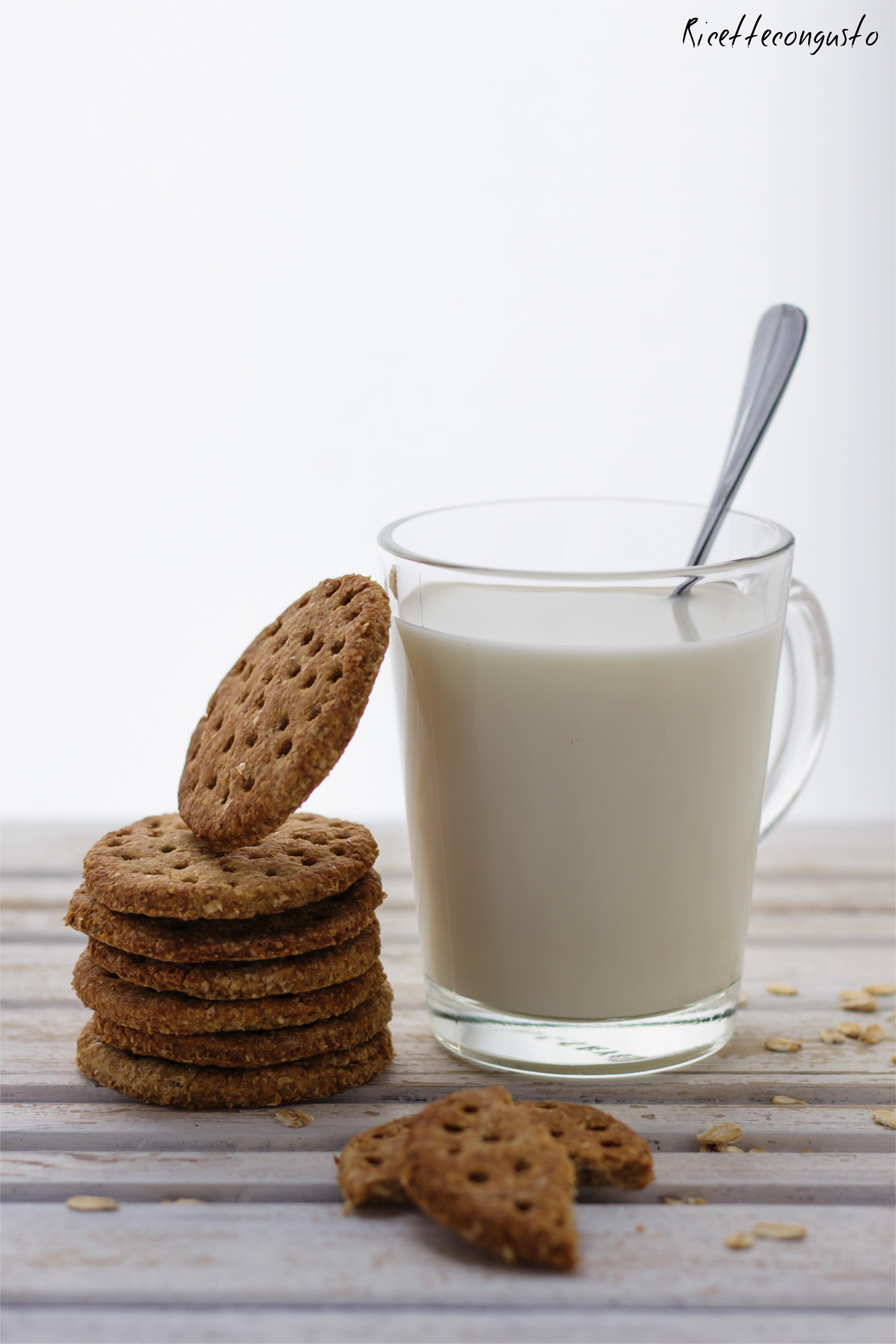 Digestive integrali con yogurt e olio