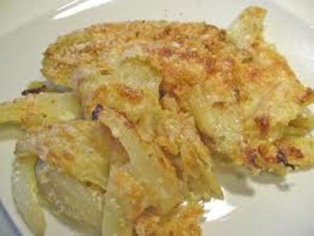Finocchi light gratinati