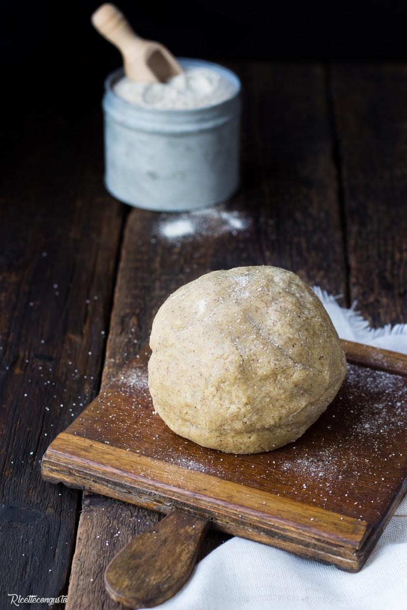 Frolla di grano saraceno e di riso
