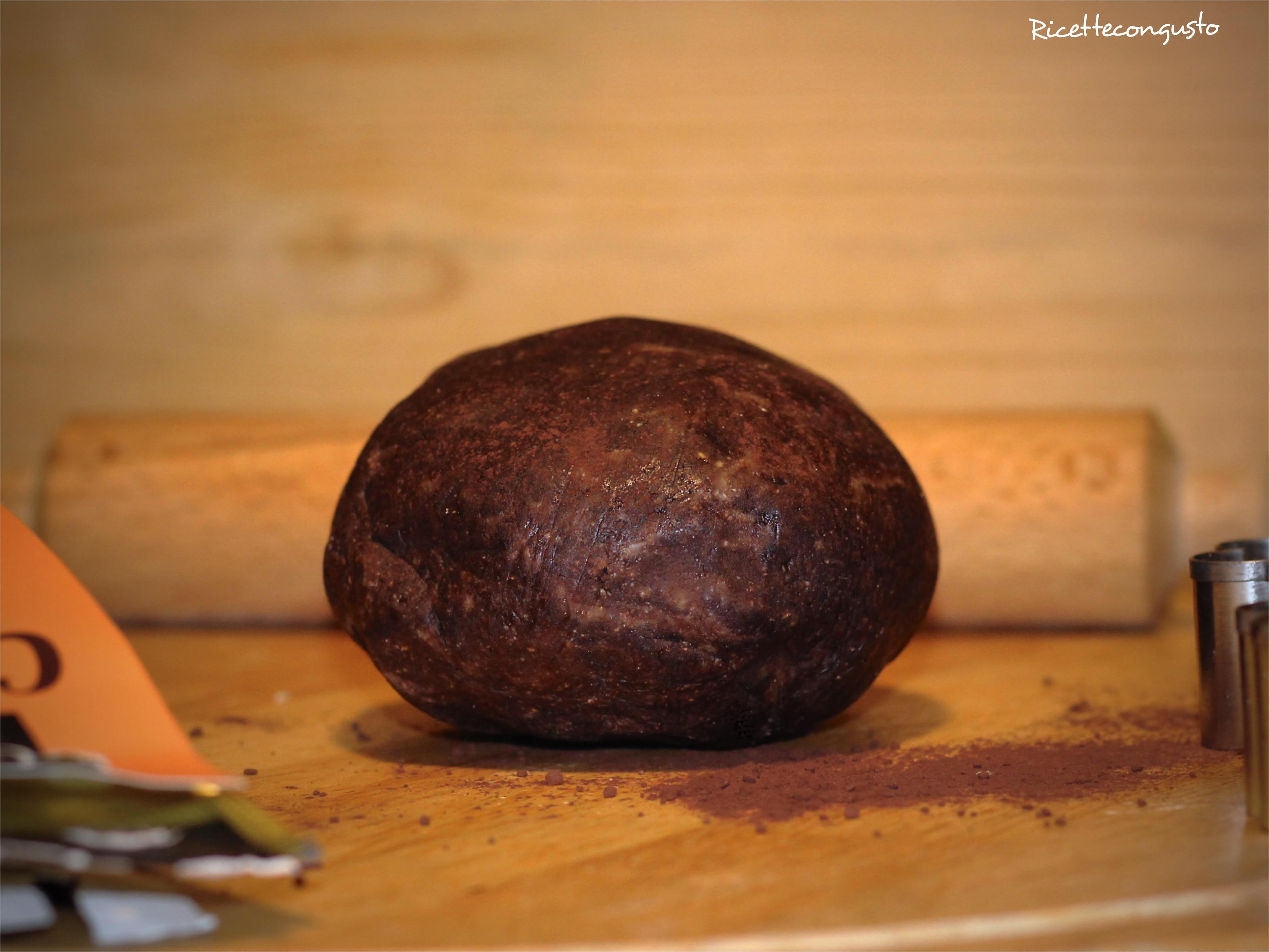 Frolla al cacao di grano saraceno e di riso integrale