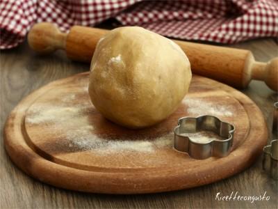 Pasta frolla con farina di semola al parmigiano
