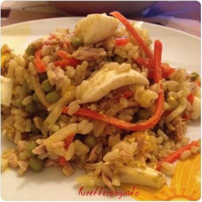 Insalata di riso alla mia maniera