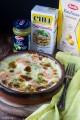 Lasagne al pesto, salmone e stracchino