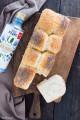 Pan bauletto all'acqua con olio di semi di lino