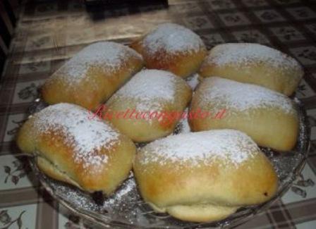 Pan brioche con ricotta