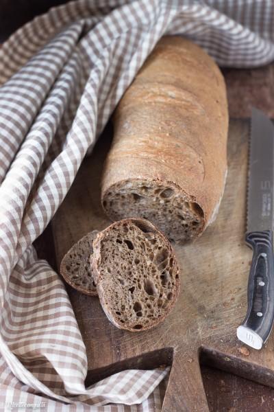 Pane ai sette cereali e semola (con lievito madre o lievito di birra)