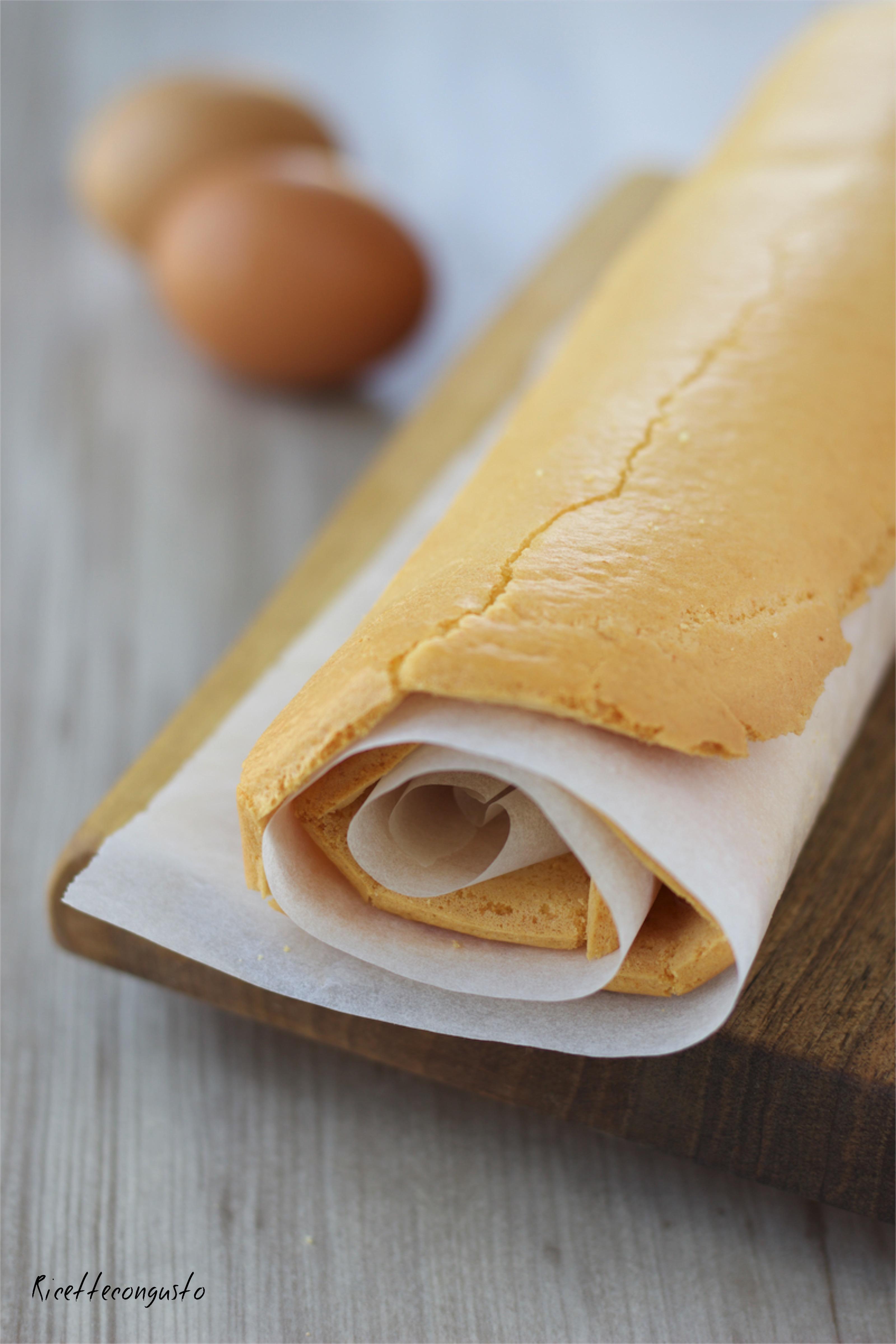 Pasta biscotto (base per rotolo)