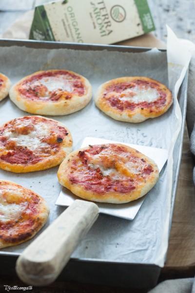 Pizzette da buffet o aperitivo
