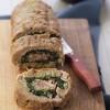 Polpettone di carne con spinaci prosciutto e formaggio