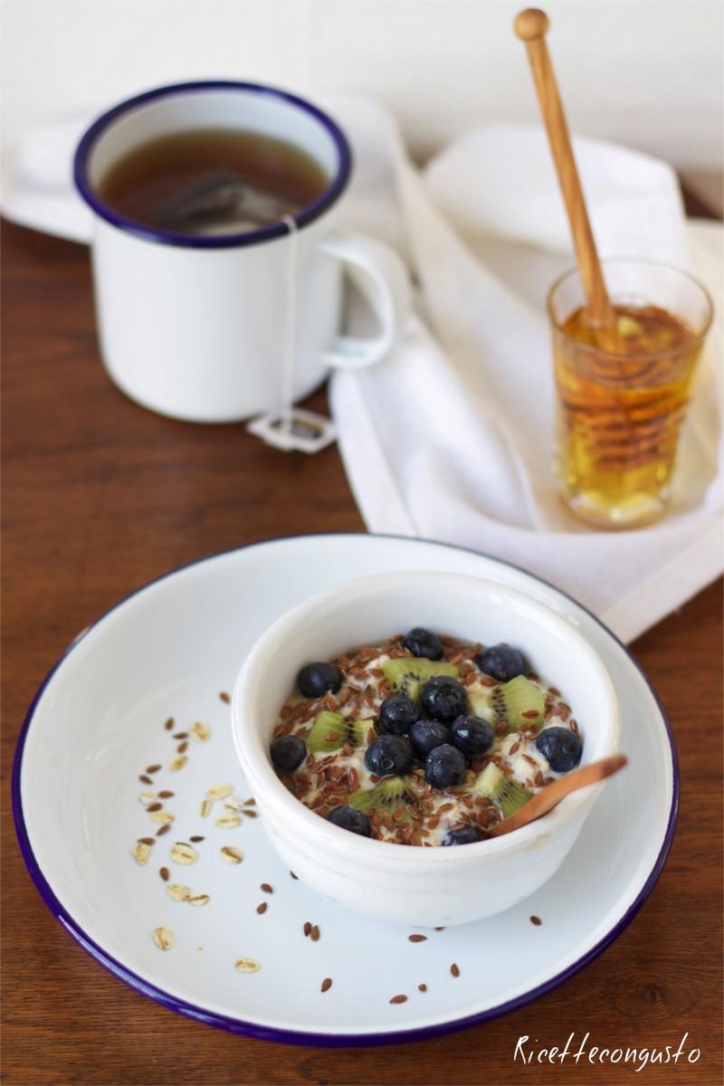 Porridge Overnight (ovvero con riposo notturno)