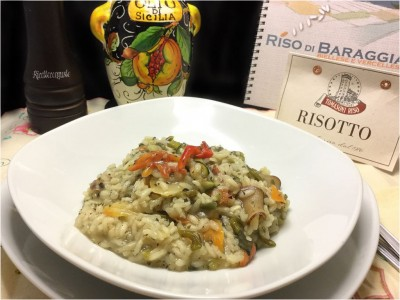 Risotto all'ortolana cremoso