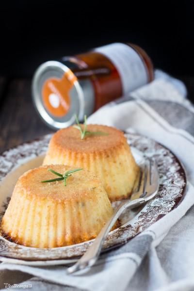 Sformatini di patate, ragù e scamorza