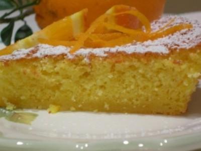 Torta soffice all'arancia
