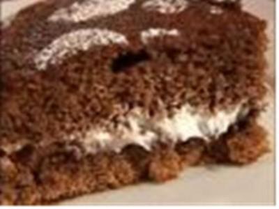 Torta nutella e panna