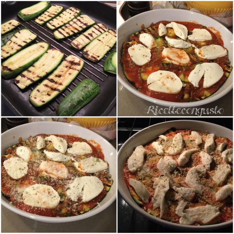 Tortino di zucchine alla parmigiana
