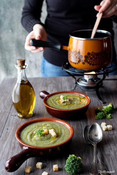 Zuppa di broccoletti e patate