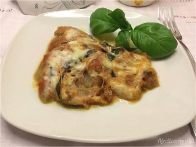 Melanzane alla parmigiana in padella